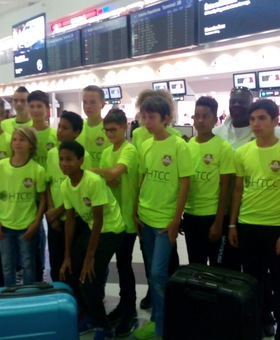 Barcelona won the HTCC sponsored Future Stars youth football team
